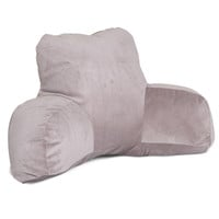 Steel Micro-velvet Reading Pillow