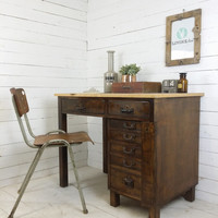Post desk antique shabby loft