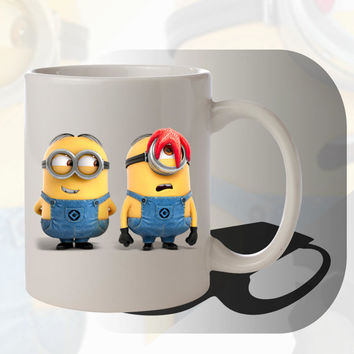 Minions Mugs Mug Couple Mugs Mug Coffee Mug Coffee Mugs Cup Cups Matching Cups Mugs custom Promotional items Gifts