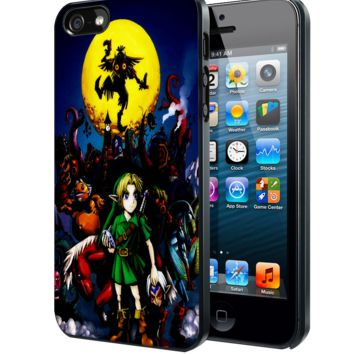 legend of zelda majora mask Samsung Galaxy S3 S4 S5 S6 S6 Edge (Mini) Note 2 4 , LG G2 G3, HTC One X S M7 M8 M9 ,Sony Experia Z1 Z2 Case