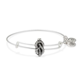 Sailor's Knot Slider Charm Bangle