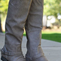 Outlaw Boots - Beige