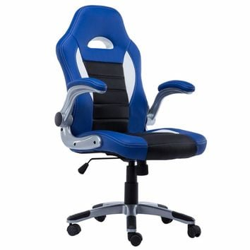 New PU Leather Executive Racing Style Bucket Seat Chair 2016 Office Desk Chair