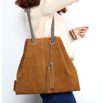 Women Genuine Leather Tote Bags 6 Colors