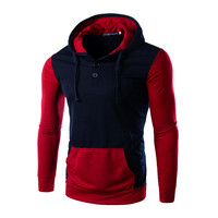 Hot Sale Slim Hats Hoodies Fashion Men Korean Jacket [6528701699]
