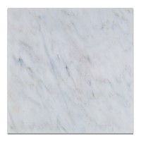 12 X 12 Oriental White / Asian Statuary Marble Polished Field Tile
