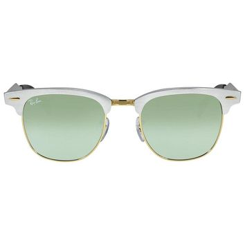 Ray Ban Clubmaster Aluminum Frame Sunglasses RB3507-51-137-40