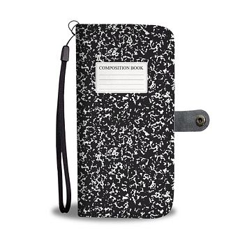 Writer's Notepad Wallet Phone Case