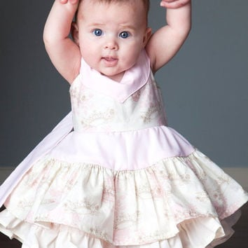 Girls Custom Party Dress Girls Baby Toddlers by NanaJustbananas