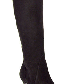 Vaneli for Footnotes - Zida - Black Suede Tall Boot