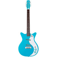 Danelectro '59M NOS+ Double Cutaway Electric Guitar (Baby Come Back Blue)