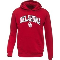 Academy - Majestic Men's University of Oklahoma Section 101 Long Sleeve Pullover Fleece Hoodie