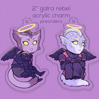 VLD - Galra Rebel Charms (Preorder)