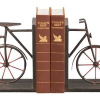 Sterling Home 51-3857 Pair of Bookends, Bicycle, 8-1/4-Inch Tall