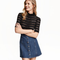H&M Denim Skirt $29.99