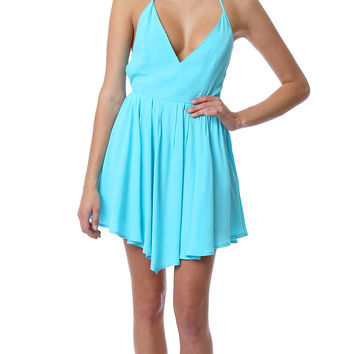 Desert Heat Sun-Dress - Blue