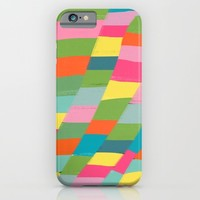 colorful patchwork 3 iPhone & iPod Case by Her Art