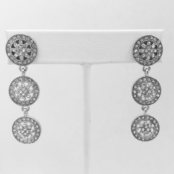Empress Silver Earrings