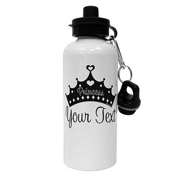 Personalized Princess -Name- Design Aluminum 600ml Water Bottle