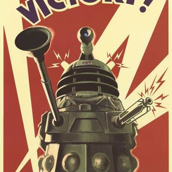 Doctor Who Dalek To Victory! Poster 24x36