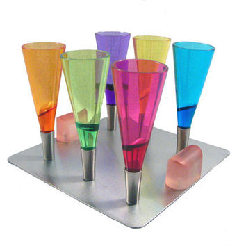 Gravity Magnetic Shot Glass Set