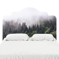 Misty Forest Headboard Decal