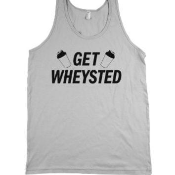 Get Wheysted-Unisex Silver Tank