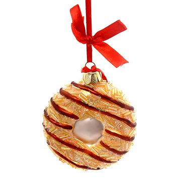 Holiday Ornaments CARAMEL DELITES SAMOAS COOKIE Girl Scout Christmas 4053397