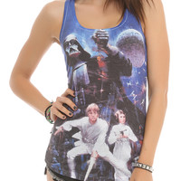 Star Wars Her Universe Group Sublimation Girls Tank Top