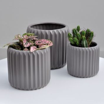 ori folded plant pot by henry & future | notonthehighstreet.com