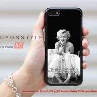 Phone Cases, iPhone 5C Case, Marilyn Monroe, iPhone Case, Phone Covers, Skins, Case for iphone, Case No-50644