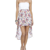 2-Fer Sweetheart High-Low Dress | Shop Just Arrived at Wet Seal