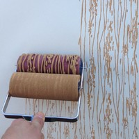 Wood Grain Patterned Paint