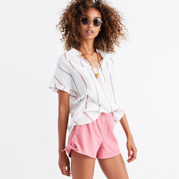 Pull-On Side-Tie Shorts : | Madewell
