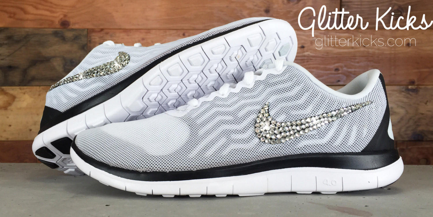 Women s Nike Free 4.0 V5 By Glitter Kicks from Glitter Kicks 61800012b