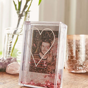 Instax Heart Glitter Frame - Urban Outfitters