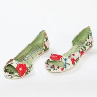 Blowfish Seeing natural amalfi peep toe flats - $39.00 : ShopRuche.com, Vintage Inspired Clothing, Affordable Clothes, Eco friendly Fashion