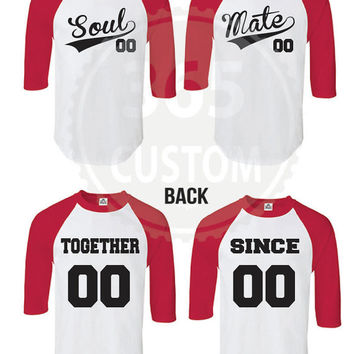Soul Mate Couple Tee *EACH 20.99 and UP