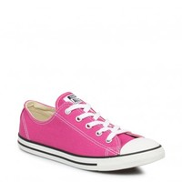CONVERSE WOMENS CHUCK TAYLOR DAINTY OX EGLANTINE TRAINERS