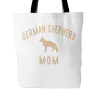 German Shepherd Mom Tote Bag