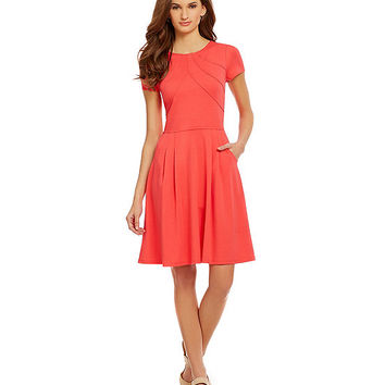 Alex Marie A-Line Marie Fit-and-Flare Dress | Dillards