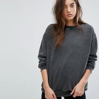 Uncivilised Oversized Washed Out Sweater at asos.com
