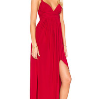 MISA Los Angeles Ever Maxi Dress in Red | REVOLVE