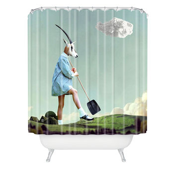 Natt Gardening Shower Curtain