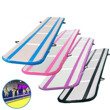 Inflatable Air Track Training Tumbling Floor Gymnastics Practice Pad GYM Mat Cheerleading Mat Trick Pad For Taekwondo Gym Sports