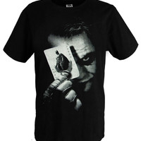Batman The Dark Night Joker Print T Shirts