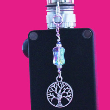 Tree of Life Vape Charm - Tree of Life Mod Charm - Tree of Life E cig Charm - Tank Charm - Electronic Cigarette Charm