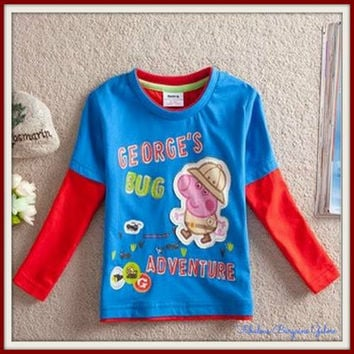 George Pig 'Bug Adventure' Top