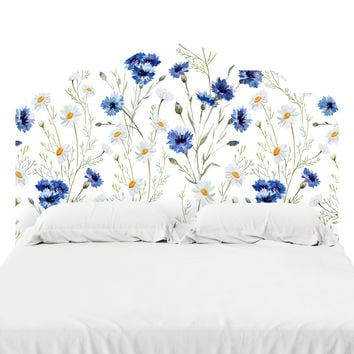 Daisy Delight Headboard Decal