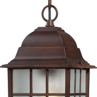 "16"" Outside Hanging Lights in Rustic Bronze Finish"
